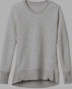 Athleta small Quilted R&R sweater